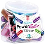 Gift Set Of Power Bullet 30Pc Bowl Asst Colors And one package of Trojan Fire...