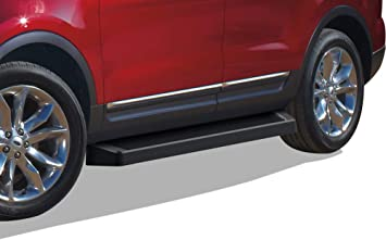Nerf Bars Side Steps Side Bars APS iBoard Running Boards 4 inches Custom Fit 2011-2019 Ford Explorer Sport Utility 4-Door