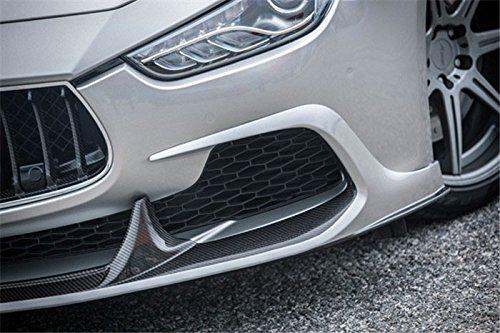 Eppar New Carbon Fiber Front Lip Spoiler (Half Carbn Fiber) for Maserati Ghibli 2013-2016