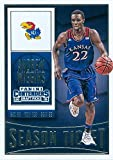 Andrew Wiggins Basketball Card (Kansas Jayhawks) 2015 Panini Season Ticket #8