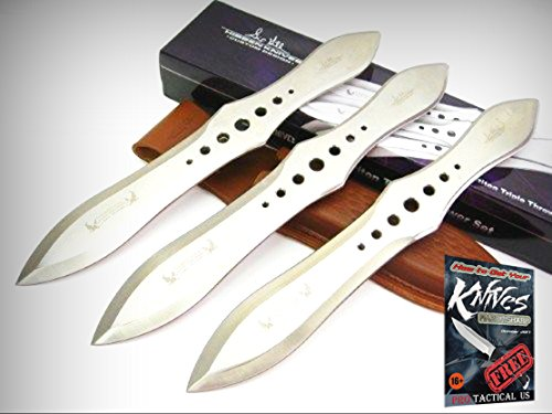 GIL HIBBEN Competition THROWER Throwing Knife Set 3 Knives + Sheath GH2033 New! + free eBook by ProTactical'US