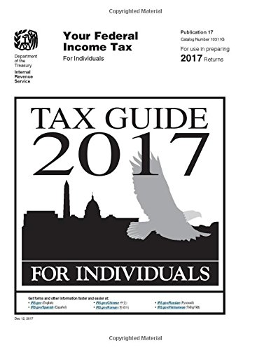 Tax Guide 2017 For Individuals Publication 17 Us Internal