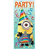 "Plastic Despicable Me Minions Door Poster, 60"" x 27"""