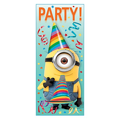 Plastic Despicable Me Minions Door Poster, 60
