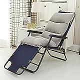 YU&AN Rocking Chair Cushion,Chair Cushion Long,Thickening Non-Slip Chair Cushion Outdoor Cushion for Garden Table Office-Light Grey 50x120x6cm(20x47x2inch)