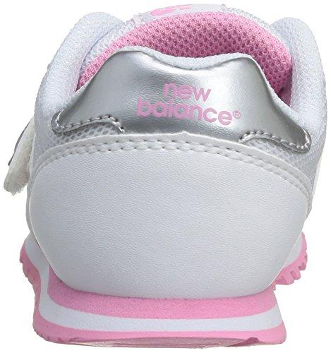 New Balance Jr 373, Zapatillas Unisex Niños Blanco / Rosa