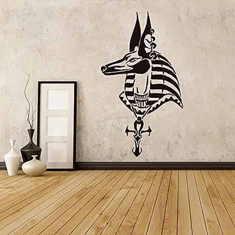 Anubis Poster de Pared Egipto Cabeza Patrón Etiqueta de La Pared ...