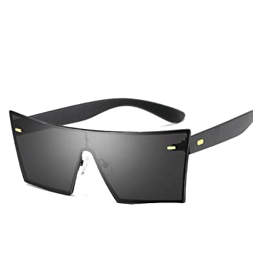 Amazon.com: WPCBAA Mens Polarized Square Sunglasses Classic ...