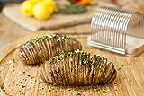 Charcoal Companion CC2031 Hasselback Potato Slicing