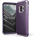 X-Doria Galaxy S9 Defense Lux Premium Protetora Moldura De Alumínio Design Fino À Prova De Choque Case Para Samsung Galaxy S9 Nylon Balístico, X-Doria, XD348-02, Prata