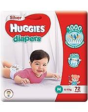 Huggies Silver Tape Diapers, Medium, 72ct