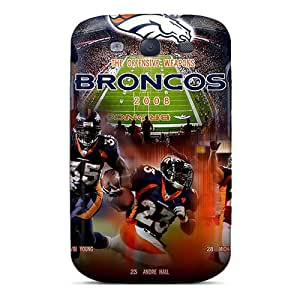 New Style Case Cover Ias2252bGou Denver Broncos Compatible With Galaxy S3 Protection Case