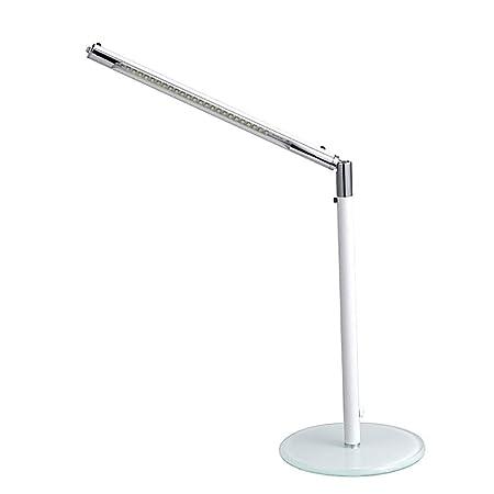 Lámpara de mesa pequeña LED, lámpara de mesa recargable con ...