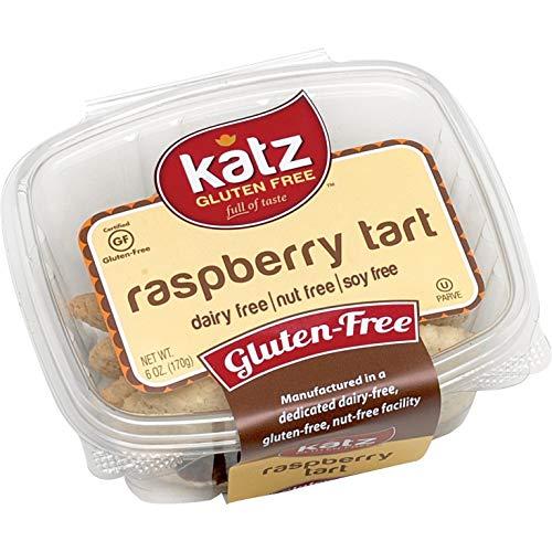Katz Gluten Free Tart, Raspberry, 6 Ounce