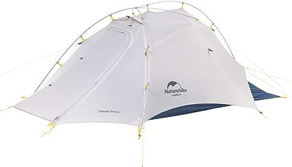 Naturehike Cloudup Flügel Ultraleichte Beruf 15D Zelte Doppelten 2 Personen Zelt 3 4 Saison für Camping Wandern Zelt