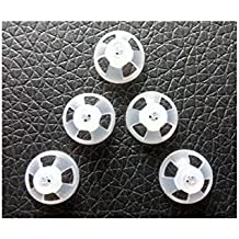 Jungle Care Comfortable PSAP (Personal Sound Amplifiers Product) Kit Ear Tips Invisible Open Dome 9mm 5-Pack, Perfect for Open Air (Open fit) or RIC (Receiver in the Canal) PASP and Hearing Aid