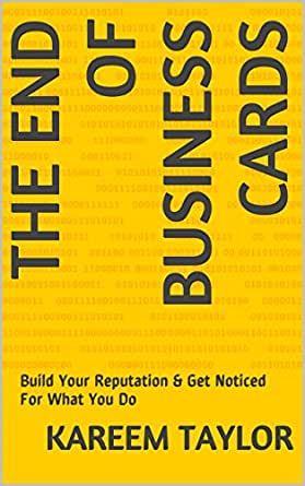 The End Of Business Cards Build Your Reputation Get Noticed For
