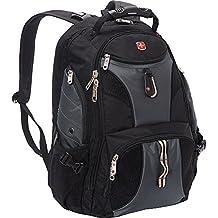SwissGear Travel Gear ScanSmart Backpack 1900 (Black/Grey EXCLUSIVE COLOR)