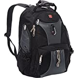 SwissGear 1900 Scansmart TSA Laptop Backpack - Black/Grey