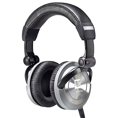 Ultrasone PRO 550i Closed Back Headphones, Black (