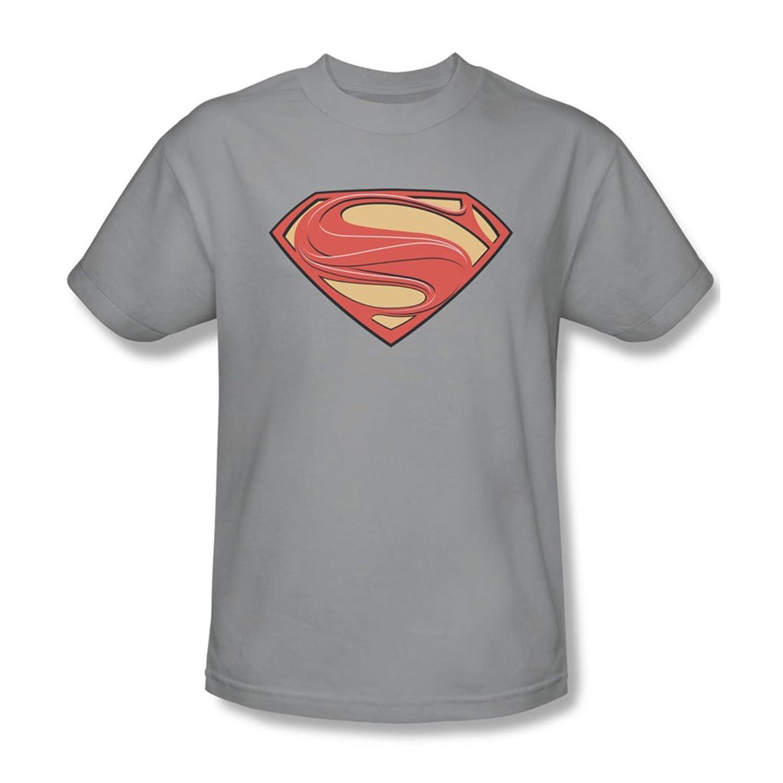 Man Of Steel - Mens New Solid Shield T-Shirt