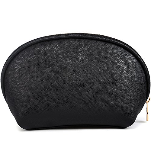 Small Cosmetic Bag,Travel Makeup Bag,YAAMUU Organizer Beauty Makeup Pouch [L0004/Black]