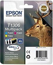 Epson C13T13064012 - Cartucho de tóner adecuado para BX320FW, multi-pack (amarillo, magenta, cian), Ya disponible en Amazon Dash Replenishment