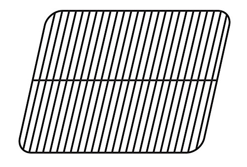 (Music City Metals 56121 Porcelain Steel Wire Cooking Grid Replacement for Gas Grill Models Aussie 6112S8X641 and Aussie 6122S8X641)