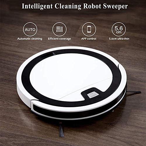 8bayfa Aspirateur Robot, Ultrathin Automatique Sweeper Nettoyage Intelligent Robot Sweeper Sonar Collision Prévention APP contrôle à Distance