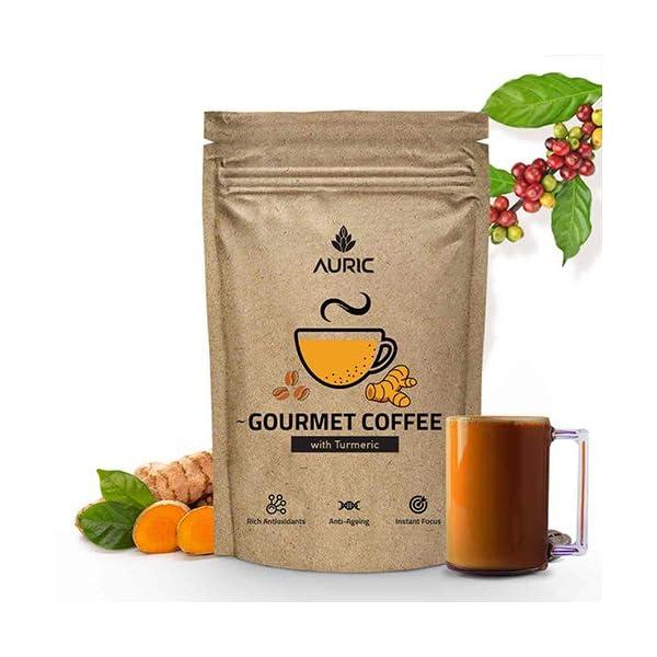 Rich Curcumin Turmeric Gourmet Coffee | Homemade Antioxidants Turmeric Latte