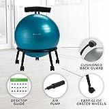 Gaiam Custom-Fit Balance Ball Chair - Exercise