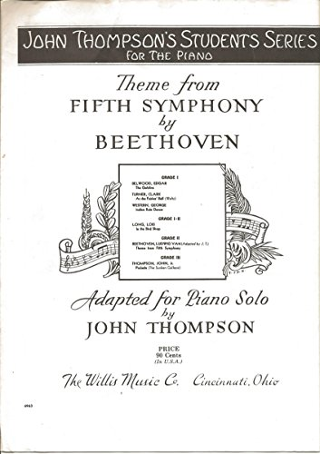 Theme From Fifth Symphony By ()