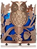 Bath and Body Works 3 Wick Candle Sleeve Sparkling Owl.