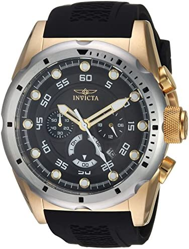 Invicta Speedway Quartz Stainless Polyurethane product image