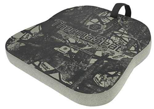 THERM-A-SEAT Traditional Series Insulated Hunting Seat Cushion, Grey, 0.75