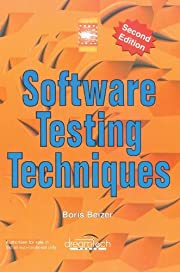 Software Testing Techniques, 2ed by Boris…