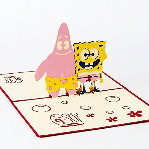 Amazon.com: Jerry & Maggie – Pop Up Tarjeta de felicitación ...