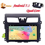 Android 7.1 Operation System Nissan Altima(2014-2016) 4-Core CPU NO-DVD Car Radio Stereo GPS Navigation Camera EQ Seven-Color LED KEY Touch Screen Mirror Link Bluetooth WIFI USB +SD Slot AUX AV IN S
