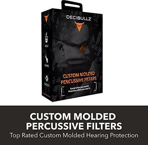 Cheapest Price! Decibullz - Custom Molded Percussive Filters, Custom Molded Hearing Protection