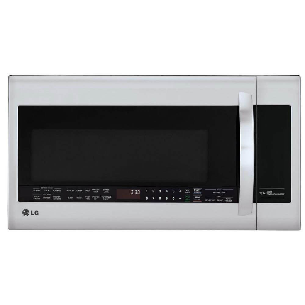 LG LMVM2033ST2.2 Cu. Ft. Stainless Steel Over-the-Range Microwave by LG