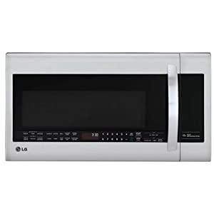 LG LMVM2033ST2.2 Cu. Ft. Stainless Steel Over-the-Range Microwave