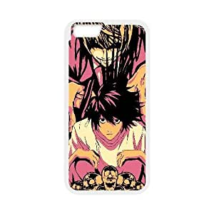 Custom for iPhone 6 4.7 Inch Cell Phone Case White Death Note Theme DG7140