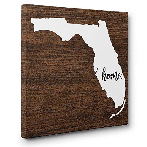 Florida Home CANVAS Wall Art Home Décor