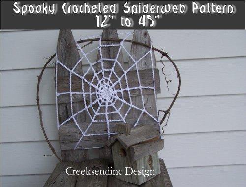 Spooky Crochet Spider Web Pattern