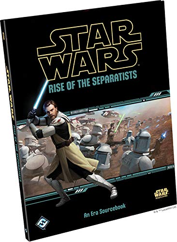 Fantasy Flight Games FFG Star Wars RPG: Rise of The Separatists Hardcover (Star Wars Fantasy Flight Rpg)
