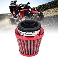 "44mm//1.73/"" 2 Layer Steel Net Filter Gauze Motorcycle Clamp-on Air Filter UK"