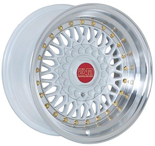 5x100 white rims - 4