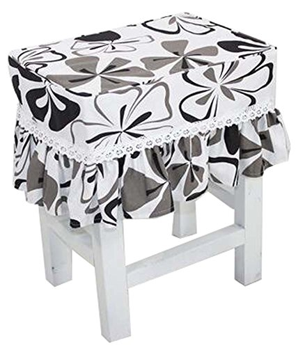 Canvas Stool Cover Makeup Stool Cover Cherry by Black Temptation