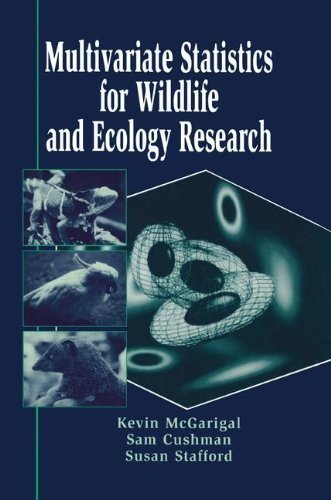 Multivariate Statistics for Wildlife and Ecology Research by McGarigal, Kevin Published by Springer (2002) Paperback