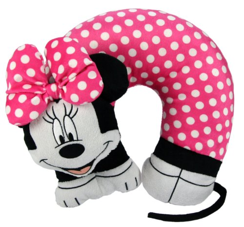 Disney Minnie Mouse 3D Character Travel Pillow by Disney